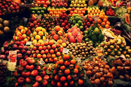 Set up an organic food store – for farmers market vendors